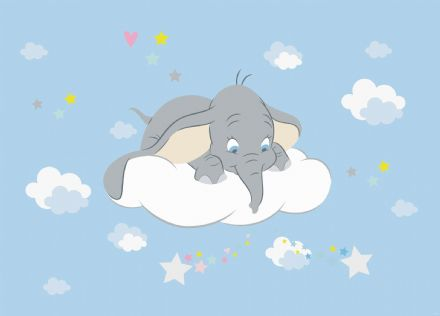 Dumbo wall mural wallpaper 160x110cm Disney